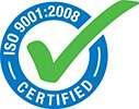 ISO 9001:2008 Certified logo