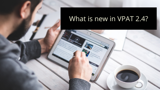 What's new in VPAT 2.4?
