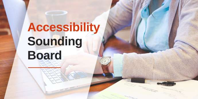 Accessibility Sounding Board