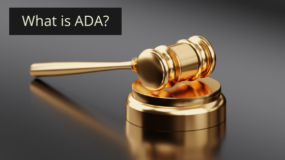 What is ADA?